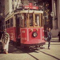 Photo taken at İstiklal Avenue by ............. on 10/21/2013