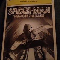 Photo taken at Spider-Man: Turn Off The Dark at the Foxwoods Theatre by Carlos E. on 8/22/2012