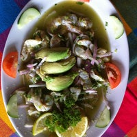 Photo taken at Mariscos Tino's by Charly R. on 9/28/2012