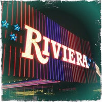 Photo taken at Riviera Hotel & Casino by M on 9/22/2013