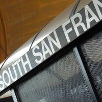 Photo taken at South San Francisco Caltrain Station by Bernard on 6/23/2013