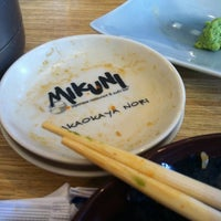 Photo taken at Mikuni by Guy T. on 2/23/2013