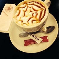 Photo taken at Costa Coffee by 'Sarang' S. on 10/19/2014