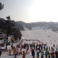 Photo taken at 양지파인cc by Minny C. on 1/21/2014