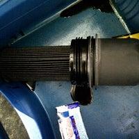Photo taken at Merc Energy Auto Garage (Bangi) Sdn. Bhd. by Hafizuddin K. on 12/19/2012