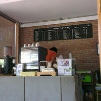 Photo taken at Boy's Organic Coffee Shop by Ekaterina R. on 10/12/2013