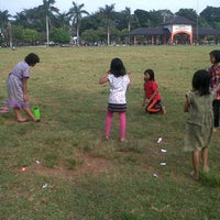 Photo taken at Lapangan Mataram by prasetiyo w. on 4/27/2014