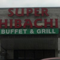 Photo taken at Super Hibachi Buffet Grill by ♉️CrAiG♉️ on 3/17/2013