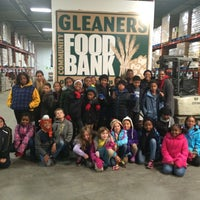 Photo taken at Gleaners Community Food Bank by Queen Takaya R. on 11/14/2014
