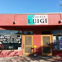 Photo taken at Pizzeria Luigi by Christian R. on 11/10/2012