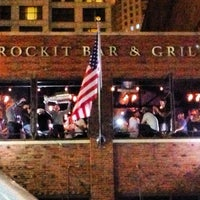 Photo taken at Rockit Bar and Grill by Marcus L. on 6/26/2013