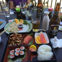 Photo taken at Sushi Boat by Michael P. on 6/11/2014