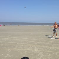 Photo taken at Hunting Island Beach by Caitlin B. on 7/25/2013