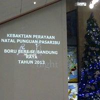 Photo taken at HKBP Bandung Ressort Bandung Riau Martadinata by ungukuw v. on 12/7/2013