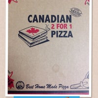 Photo taken at Canadian Pizza by G P. on 10/31/2013