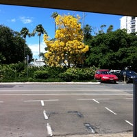 Photo taken at Cairns City Library by Stacie Y. on 10/12/2013