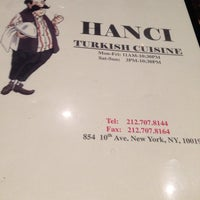 Photo taken at Hanci Turkish Cuisine by Kathy E. on 5/7/2014