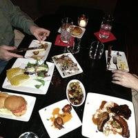 Photo taken at Bocado Tapas Wine Bar by Tonyhopedale on 3/10/2013