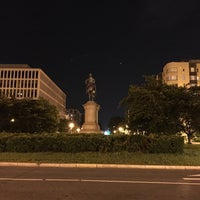 Photo taken at Scott Circle by Armie on 5/27/2016