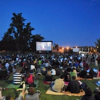 Photo taken at Screen on the Green by Armie on 7/29/2014
