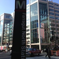 Photo taken at Farragut North Metro Station by Armie on 3/19/2013