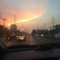Photo taken at Chaeng Watthana Road by Pimpinit S. on 4/17/2016