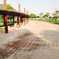 Photo taken at Prince Bin Jalawy Park by Jay Q. on 1/23/2016