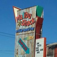 Photo taken at Malibu Shack Grill & Beach Bar by Kathryn K. on 4/4/2013