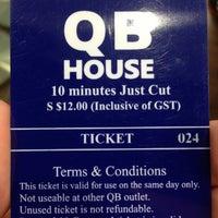 Photo taken at QB House by Jason M. on 8/8/2013