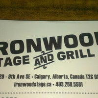 Photo taken at Ironwood Stage and Grill by Kim E. on 7/29/2013
