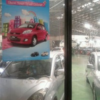Photo taken at Perodua Service Center Rawang by Zaimi C. on 1/8/2013