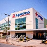 Photo taken at Superluna Supermercados by Pizzaria Meu Rancho on 5/23/2014