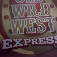 Photo taken at Old Wild West Express by Andrea F. on 2/12/2013