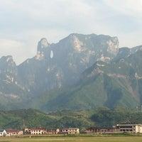 Photo taken at Zhangjiajie Hehua Airport (DYG) by Jon M. on 5/21/2013