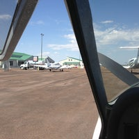 Photo taken at Show Low Airport by Timothy G. on 7/3/2013