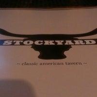 Photo taken at Stockyard Food & Spirit by Karen H. on 3/9/2013