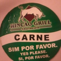 Photo taken at Rincão Grill by Nayanna on 4/5/2014