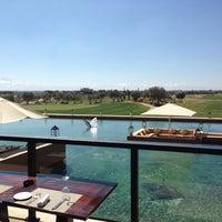 Photo taken at Golf Al Maaden by Romain C. on 2/28/2015