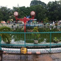 Photo taken at Alun-Alun Kota Malang by Aan A. on 12/21/2012