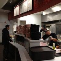 Photo taken at Naf Naf Grill by David K. on 10/27/2012