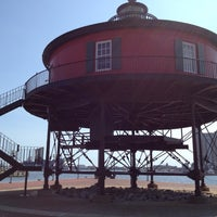 Photo taken at Seven Foot Knoll Lighthouse by Hayden B. on 9/25/2012