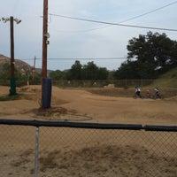 Photo taken at Catcus Park BMX by Nanc D. on 4/11/2014