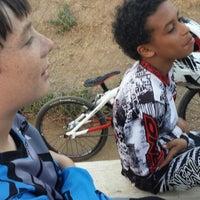 Photo taken at Catcus Park BMX by Nanc D. on 6/24/2014