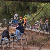 Photo taken at Catcus Park BMX by Nanc D. on 10/11/2013