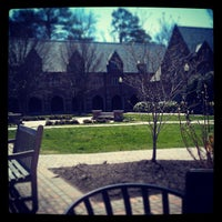 Photo taken at University of Richmond by Cheers Virginia! on 4/6/2013