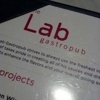 Photo taken at The Lab Gastropub by John J. on 2/13/2013