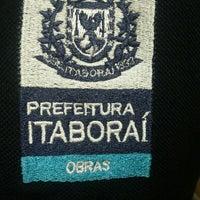 Photo taken at Secretaria de Obras/Itaborai by Guilherme M. on 2/3/2014