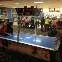 Photo taken at Buffaloe Lanes Erwin Bowling Center by Courtney C. on 8/15/2013