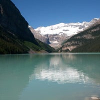 Photo taken at Lake Louise by Rory P. on 7/16/2013