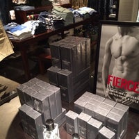 Photo taken at Abercrombie & Fitch by Twan on 2/23/2014